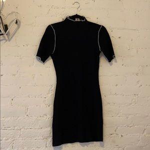 Asos black mini dress